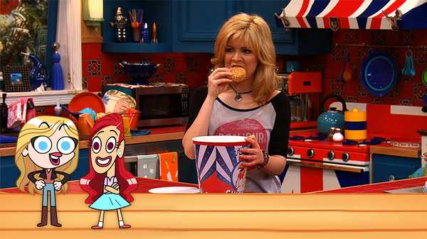"The Lil' Sam & Cat Show: ""#BagO'Burgers"""