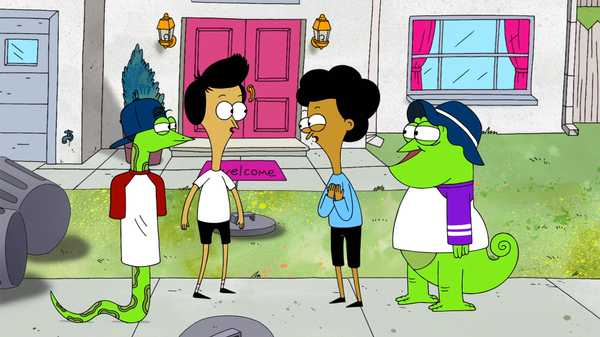 "Sanjay and Craig: ""JJ and Greg/Tuff Rider"""