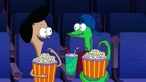 "Sanjay and Craig: ""Space Train to Space/The Snake Pit"""