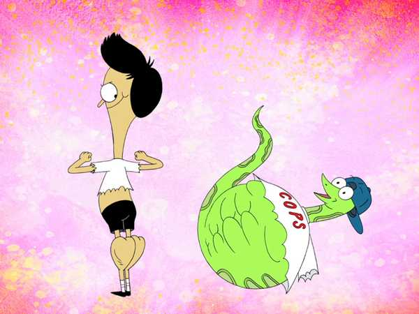 "Sanjay And Craig: ""Muscle Cops"""