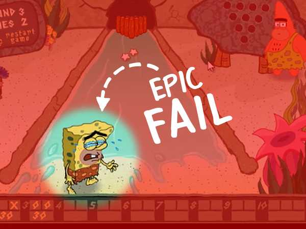 NickGamer Epic Fails: SpongeBob Sports