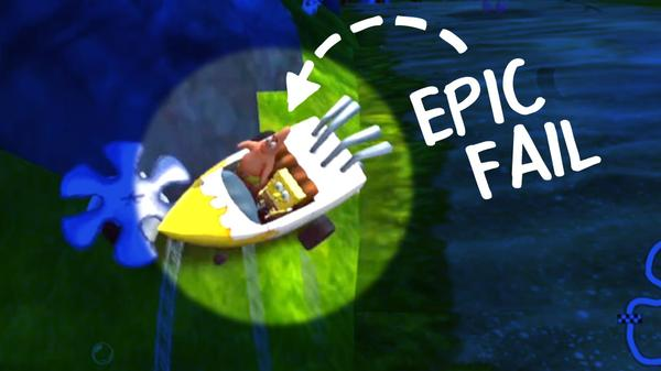 Epic Fails: Nick Racers Revolution 3D