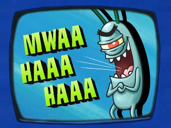 Plankton's Diary: Evil Laugh