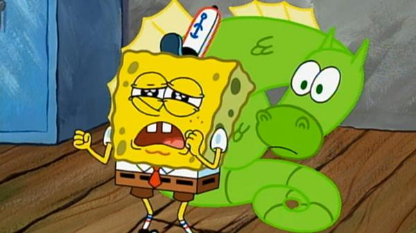"""SpongeBob SquarePants: """"Club SpongeBob/My Pretty Seahorse"""""""