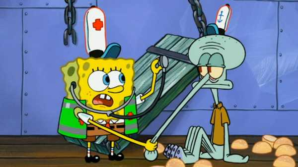 "SpongeBob SquarePants: ""Accidents Will Happen/The Other Patty"""
