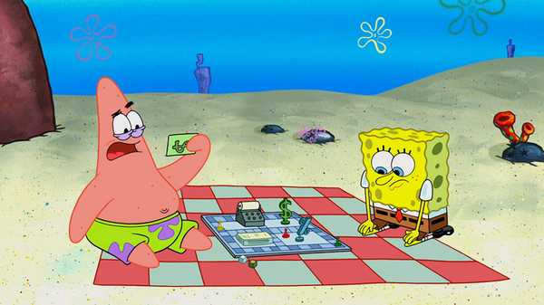 "SpongeBob SquarePants: ""Patrick! The Game/The Sewers of Bikini Bottom"""