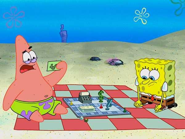 "SpongeBob SquarePants: ""Patrick! The Game/The Sewers of Bikini Bottom"""