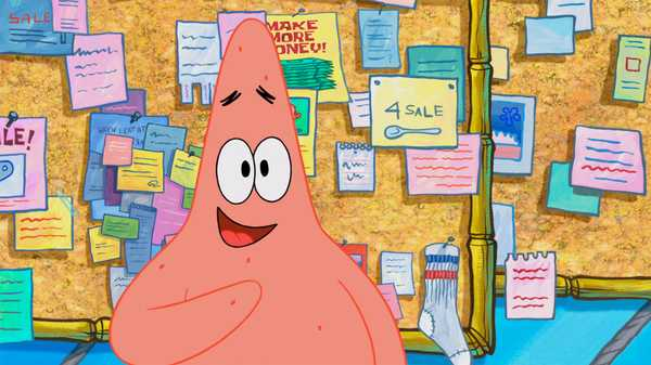 "SpongeBob SquarePants: ""Bulletin Board"""