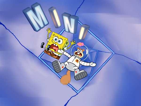 "SpongeBob SquarePants Mini: ""Sandy's Vacation in Ruins"""