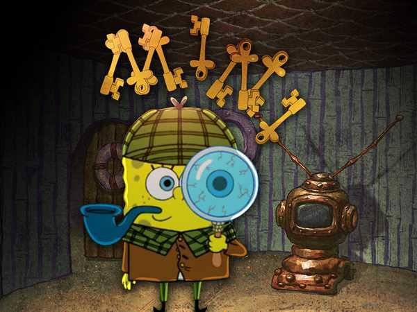 "Spongebob Squarepants: ""Spongelock Holmes"""