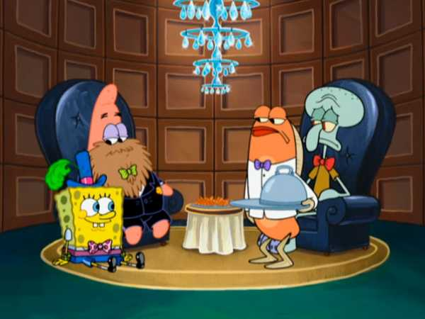 "SpongeBob SquarePants: ""Squidward's School for Grown-Ups/Oral Report"""