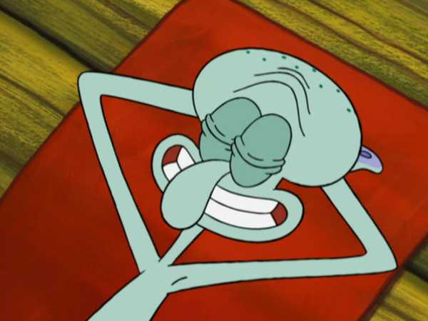 "SpongeBob SquarePants: ""Accidents Will Happen: Scamming Squid"""