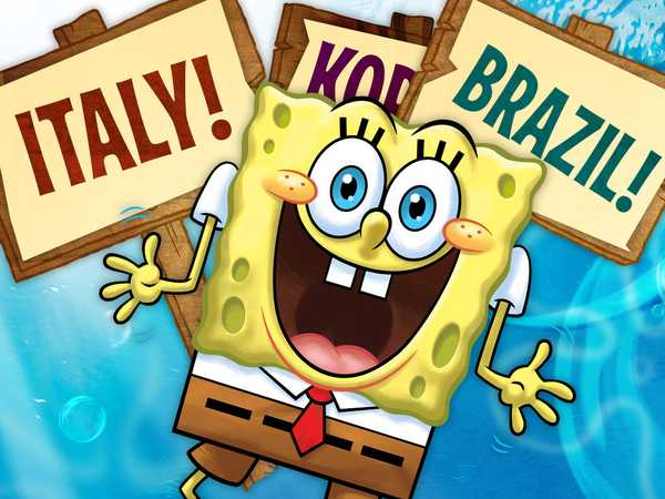 SpongeBob SquarePants in Every Language