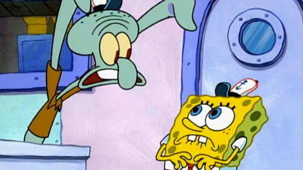 "SpongeBob SquarePants: Graveyard Shift: ""Hash Slinging Slasher"""