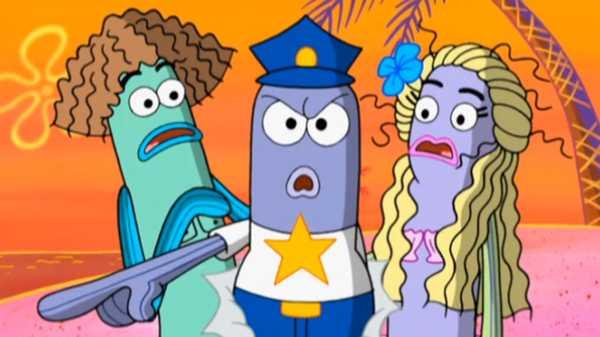 "SpongeBob SquarePants: ""Restraining SpongeBob/Fiasco!"""