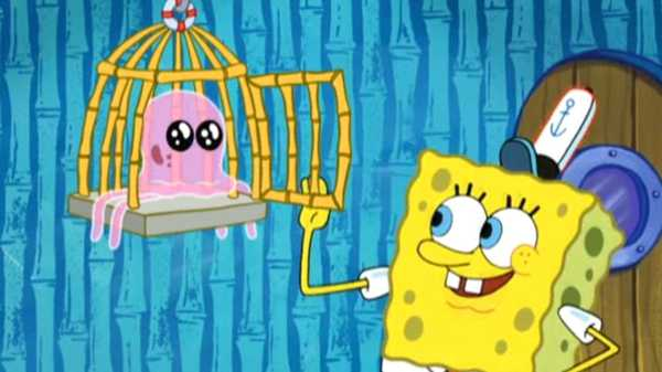 """Spongebob Squarepants: """"Are You Happy Now?/ Planet of the Jellyfish"""""""