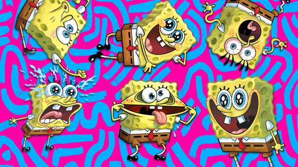 Spongebob Squarepants: Spongebob's Greatest Faces!