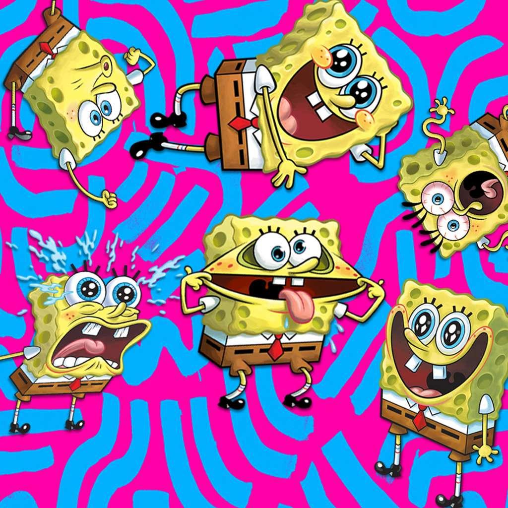 Spongebob Squarepants: Spongebob's Greatest Faces!