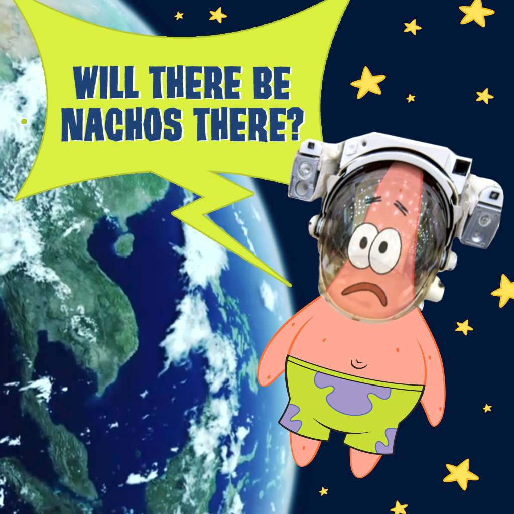 "Spongebob Squarepants: ""Patrick's Quest for Food"""