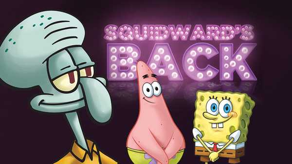 "SpongeBob SquarePants: ""Squidward's Back!"""