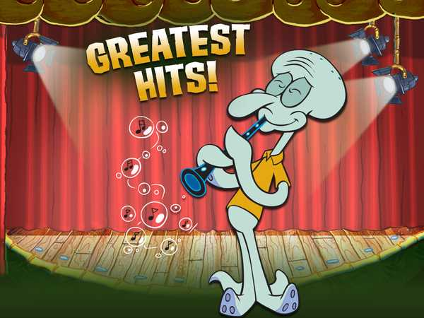 Squidward's Greatest Hits