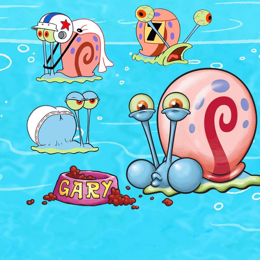 Spongebob Squarepants: Greatest Gary Moments of All Time!