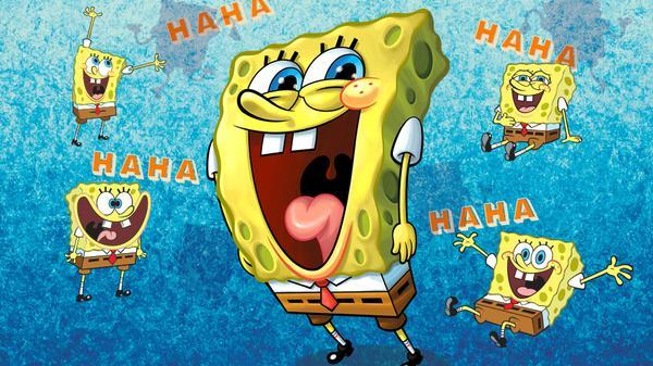 spongebob laughing machine