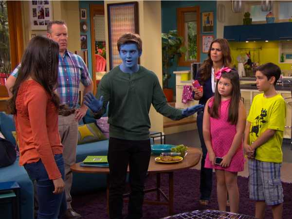 "The Thundermans: Blue Detective: ""Why So Blue?"""