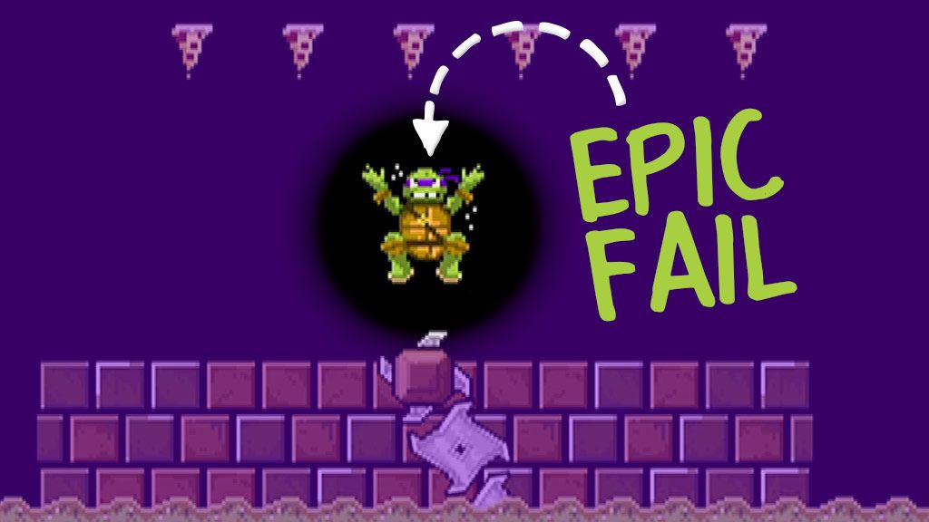 Teenage Mutant Ninja Turtles: Epic Fails: Donnie Saves a Princess Video Clip | Nick Videos