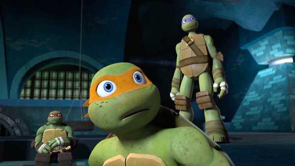 """Teenage Mutant Ninja Turtles: """"Follow the Leader"""""""