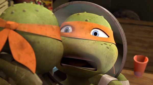 "Teenage Mutant Ninja Turtles: ""Mikey Gets Shellacne"""