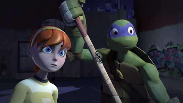"""Teenage Mutant Ninja Turtles: """"Target: April O'Neil"""""""