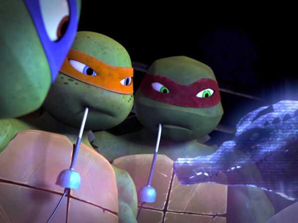"""Teenage Mutant Ninja Turtles: Into Dimension X!: """"Help for Leatherhead"""""""