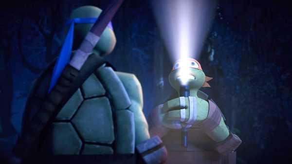 """Teenage Mutant Ninja Turtles: """"Within the Woods"""""""