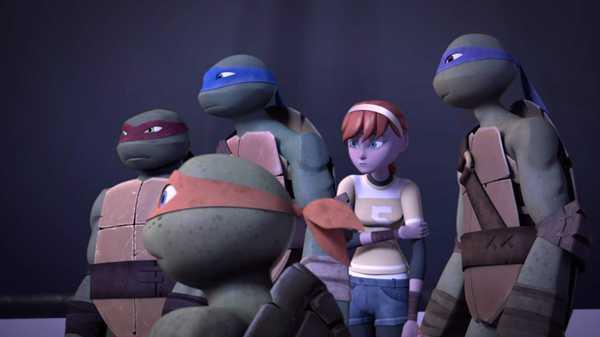 """Teenage Mutant Ninja Turtles: """"The Fourfold Trap"""""""
