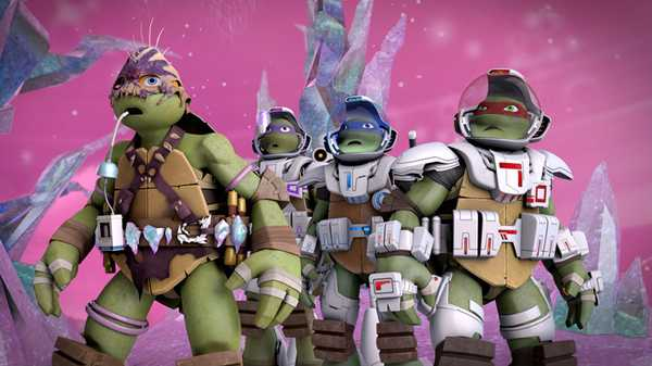 "Teenage Mutant Ninja Turtles: ""The War for Dimension X"""