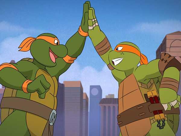 """Teenage Mutant Ninja Turtles: """"Trans-Dimensional Turtles"""""""