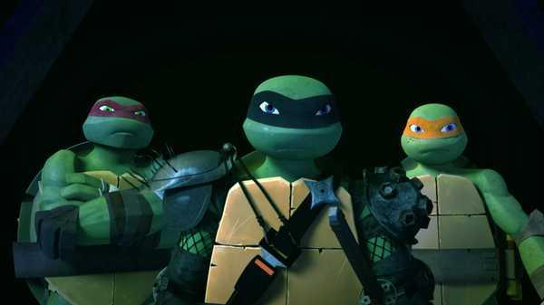 "Teenage Mutant Ninja Turtles: ""Broken Foot"""