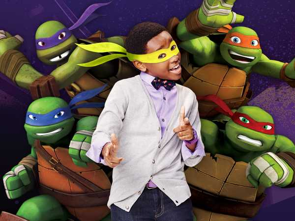 Teenage Mutant Ninja Curtis