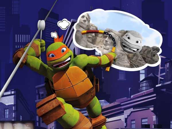 """Teenage Mutant Ninja Turtles: """"Mikey's Zipline"""""""