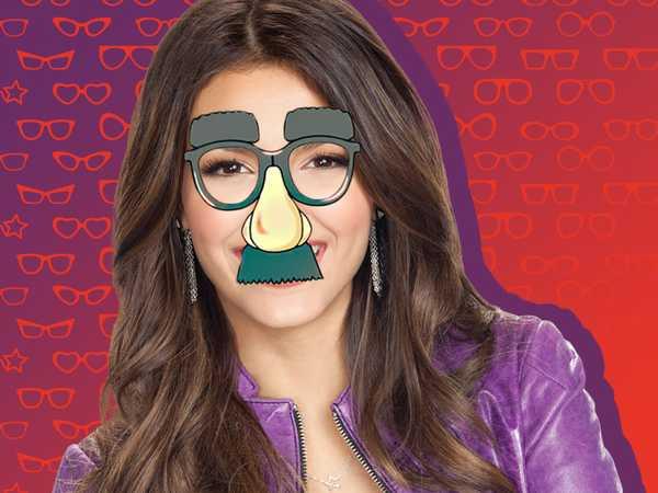 Victoria Justice on Glasses!