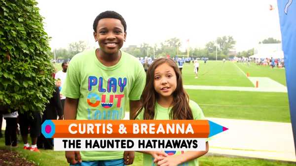 "World Wide Day of Play: ""The Hathaways Kids Play"""
