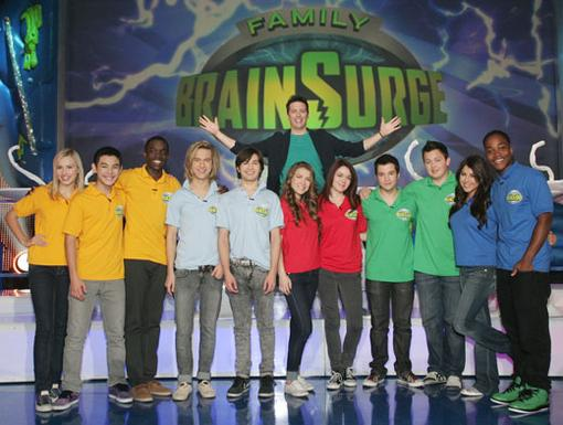 Set Siblings|These Nick Stars are as good as family. That's why they formed the perfect teams for Family BrainSurge!