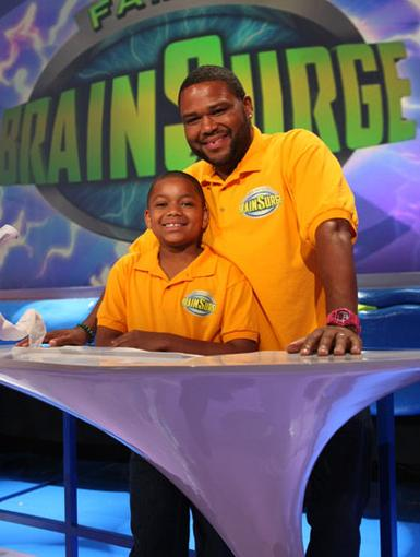 Like Father Like Son|The hilarious Anthony Anderson provided some cranium comedy when they joined in for some Brain Surge-ry.
