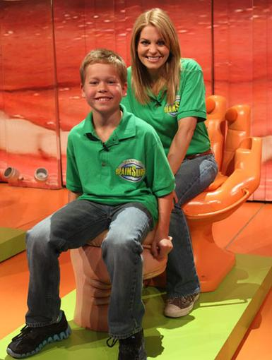 Lend Me A Hand|Having an extra family member to help you out sure comes in handy. Just ask Candace Cameron Bure!
