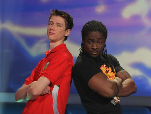 Tough Guys|If Kofi Kingston and his brain bud are as smart as they are strong, they just might win the first place prize.