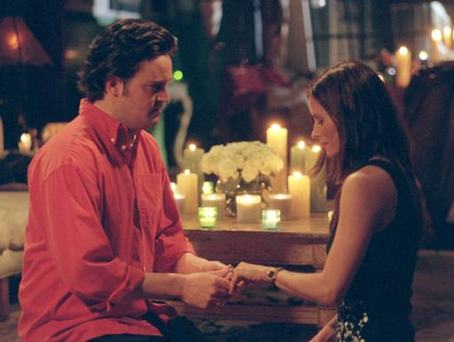 Bing Ring|Monica Geller is about to become Mrs. Monica Bing. Hey, at least her middle name isn't Muriel.