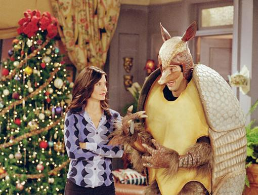 It's the Holiday Armadillo!|When Ross tries to teach Ben about Hanukkah, he goes for more of a wild approach.