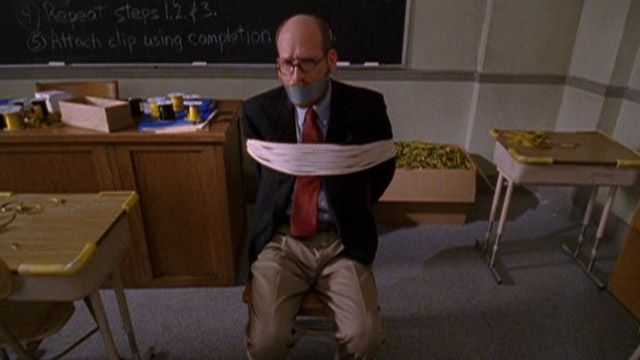 Malcolm in the Middle | Buseys Take a Hostage: Tied Up Teacher | Video Clip | TeenNick