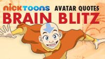 Avatar The Last Airbender: Quotes Brain Blitz